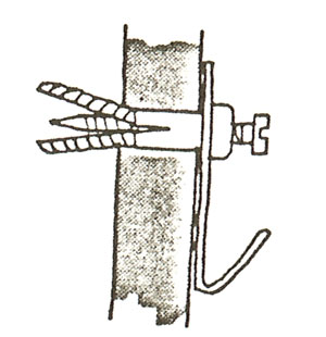 Spik betongvägg